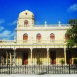 Beautiful colonial building in Merida.