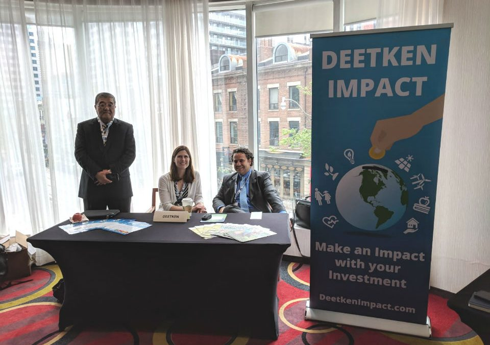 Deetken Impact attends 2018 RIA Conference