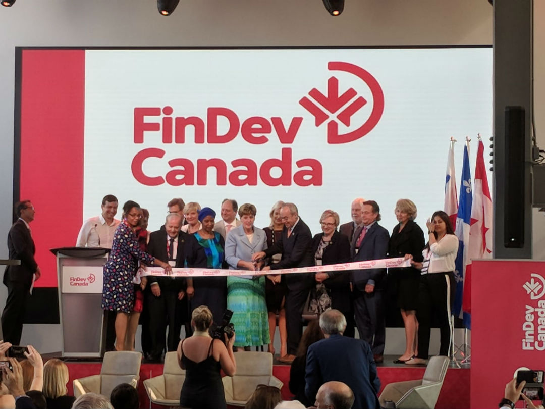 Launch of Canada's development finance institution