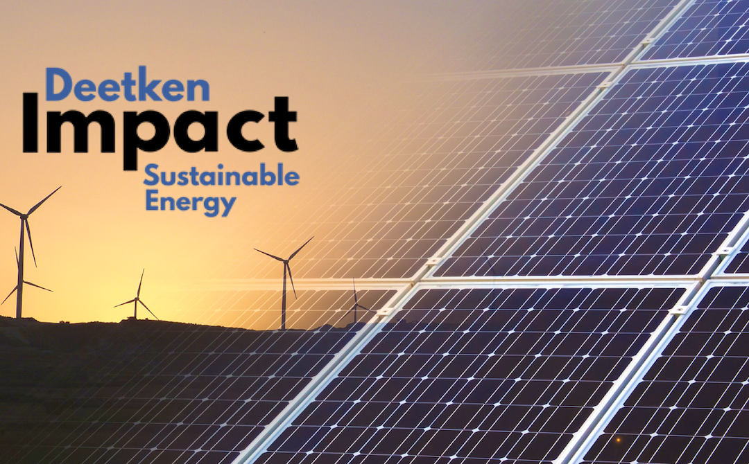 Deetken Impact Partners with Sustainable Energy Central America to Manage Renewable Energy Funds