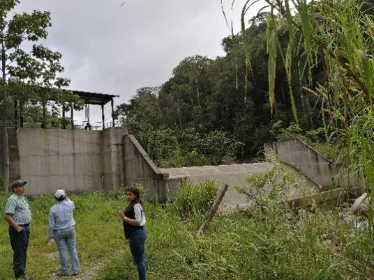 Run-of-river hydroelectric power plant in Colon, Honduras. Renewable energy project.