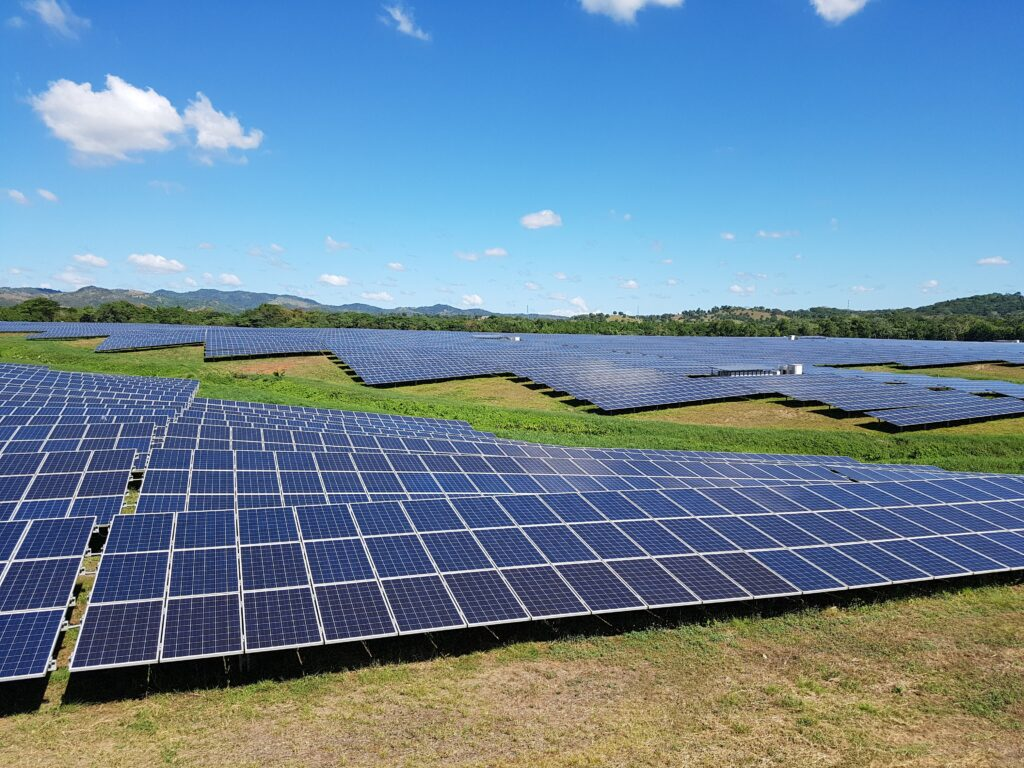 Solar energy project, part of the CABEF portfolio of Deetken Impact, in Monte Plata, Dominican Republic.