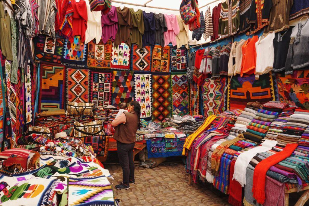 Fabrics business in Lima, Peru.